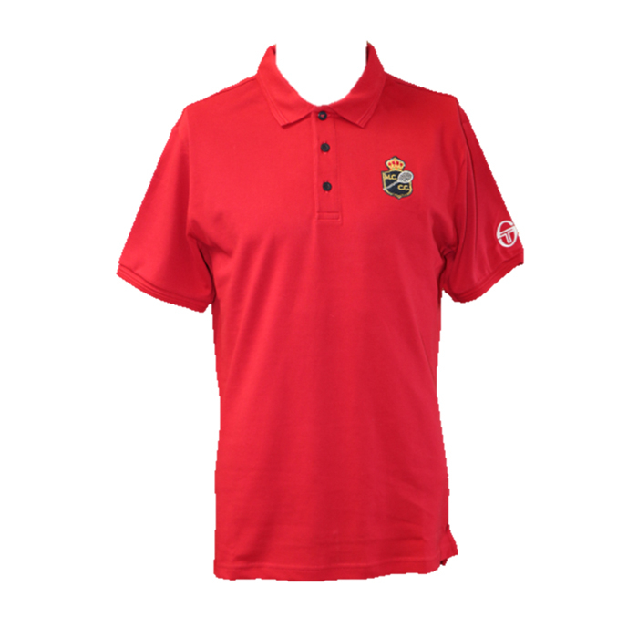 POLO HOMME FANCHER ROUGE