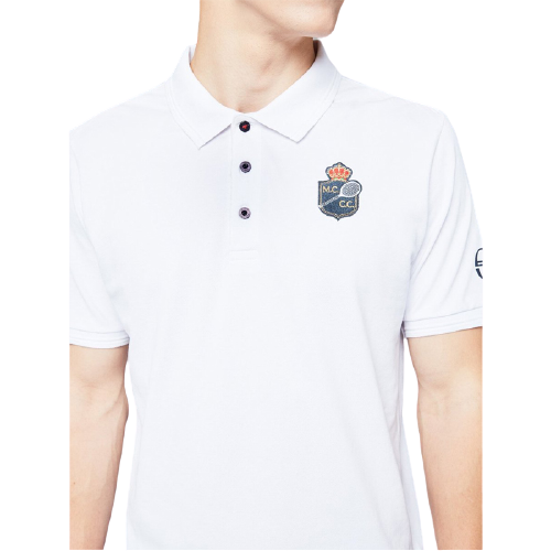 POLO HOMME FANCHER  BLANC