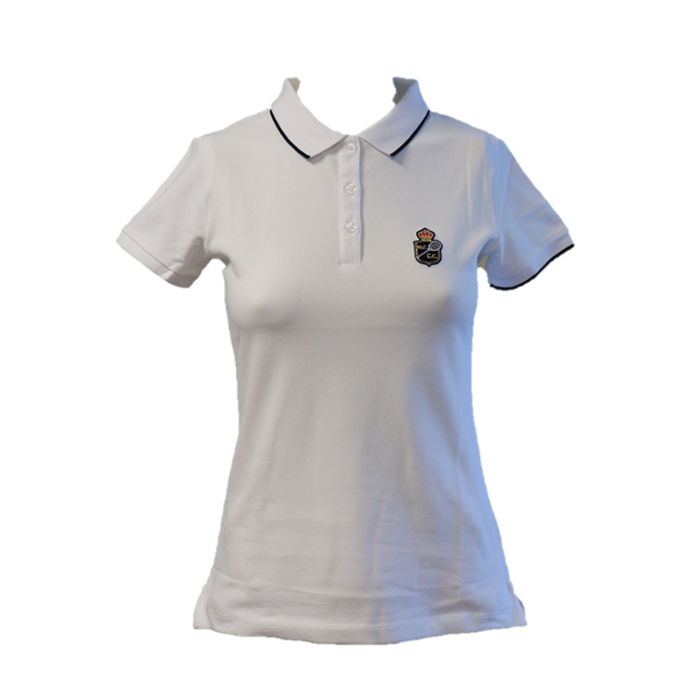 POLO FEMME CLASSIC BLANC