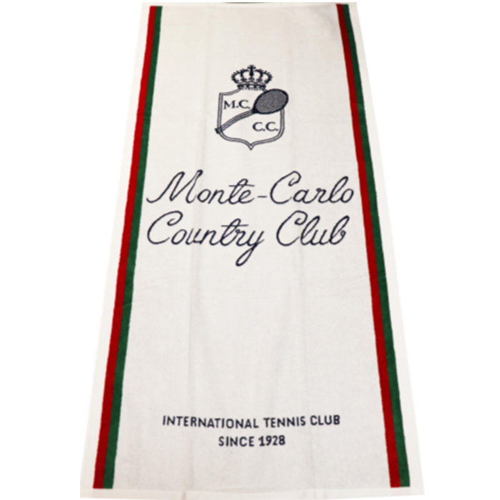 SERVIETTE DE PLAGE MONTE-CARLO COUNTRY CLUB
