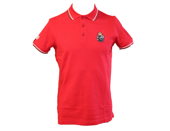 POLO HOMME PRESTIGE ROUGE MCCC